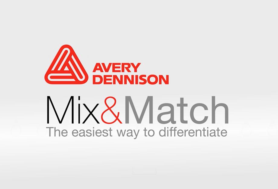 mix matchカスタムラベルソリューション avery dennison lpm