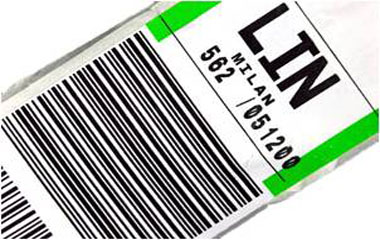 Baggage Tag Labelling