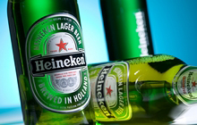 View our premium beer bottle label using Clear-on-Clear film products