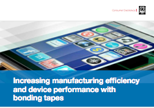 Increasing manufacturing efficiency and device performance with bonding tapes-220x140