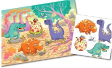 Kiddie sticker portfolio