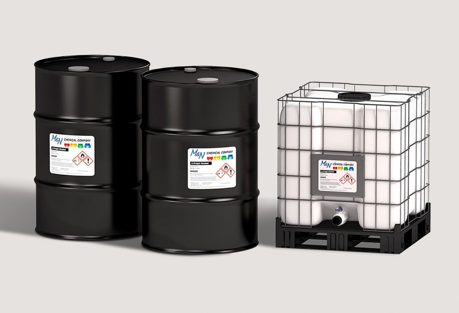 Oil Drums With High-Performance Adhesive Labels