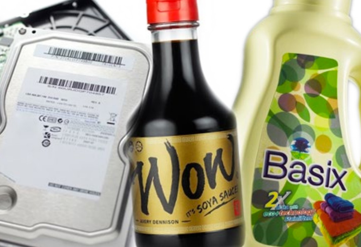 Mix & Match Sophisticated Labelling On Food And Electronics
